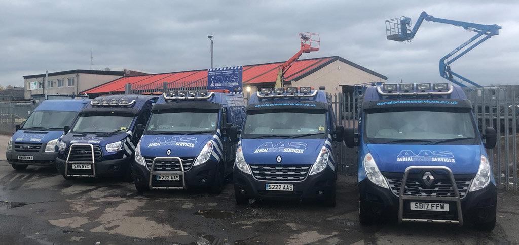 aerial access vans